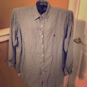 "Ralph Lauren ""Blake"" Men's XL Plaid Long Sleeve"